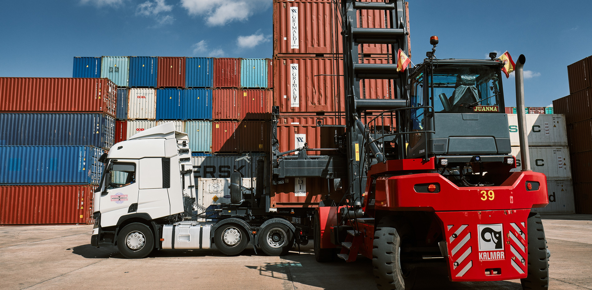 Home, Grupajes Valencia, Valencia maritime transport company | Intercontainer